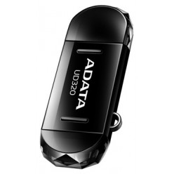 A-Data 16GB DashDrive Durable UD320 Black AUD320-16G-RBK (OTG)