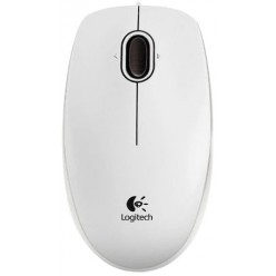 Logitech B-100 Optical Mouse white (910-003360)