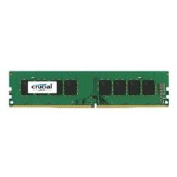 Crucial DRAM 4GB DDR4 2400 MT/s (PC4-19200) CL17 SR x8 Unbuffered DIMM 288pin, EAN: 649528769817