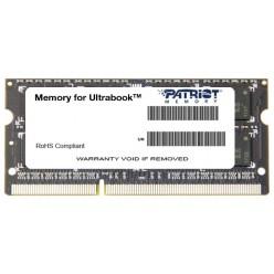 Patriot 4GB PC-12800 DDR3-1600 PSD34G1600L2S (SODIMM) 1.35V