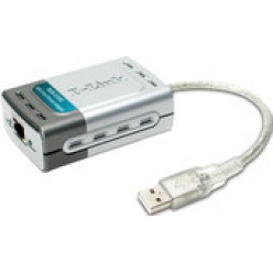 Концентратор USB 2.0 Fast Ethernet Adapter