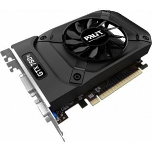 Видеокарта Palit GeForce GTX750 Ti StormX OC 2 GB (NE5X75TS1341-1073F)